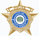 Lake forest police logo